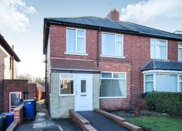 Thumbnail 3 bed semi-detached house for sale in Hexham Road, Newcastle Upon Tyne