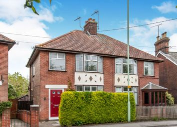 3 bed semi-detached house for sale in Newton Road, Stowmarket IP14