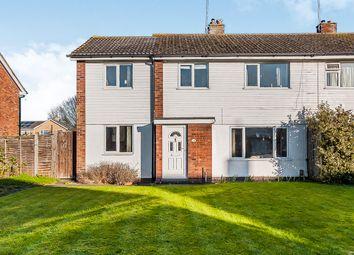 Thumbnail 4 bed semi-detached house for sale in Denham Walk, Netherton, Peterborough