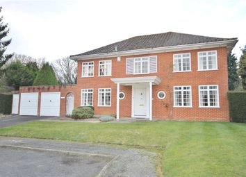 Thumbnail 4 bed detached house for sale in Hollycombe, Englefield Green, Surrey