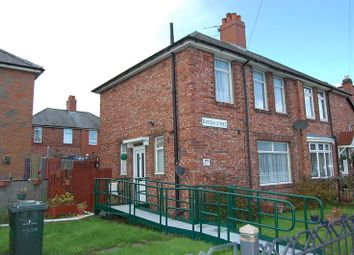 Thumbnail 3 bedroom semi-detached house for sale in Flodden Street, Walker, Newcastle Upon Tyne