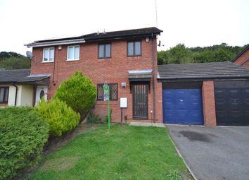 Thumbnail 2 bedroom semi-detached house to rent in Gresham Drive, West Hunsbury, Northampton