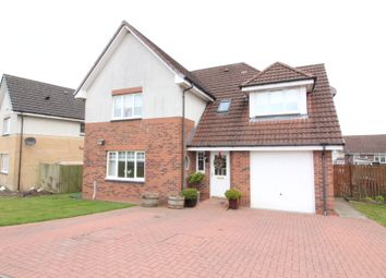 Thumbnail 4 bed detached house for sale in Linkwood Road, Airdrie