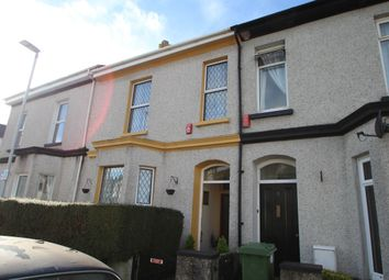 Thumbnail 2 bedroom terraced house for sale in Southern Terrace, Mutley, Plymouth