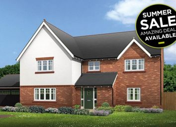 """Thumbnail 5 bedroom detached house for sale in """"Halstead"""" at Common Lane, Lach Dennis, Northwich"""