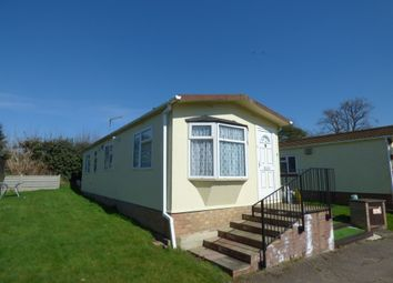 Thumbnail 1 bed mobile/park home for sale in Ashleigh Park, Ware
