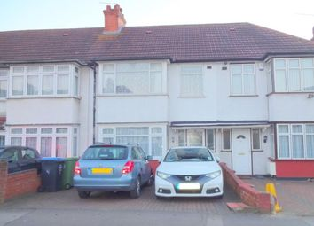 Thumbnail 3 bed terraced house to rent in Woodside Avenue, Wembley
