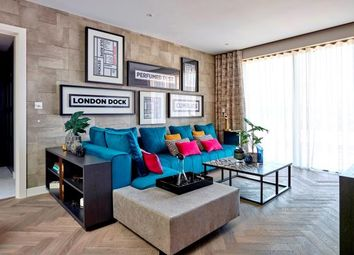 Thumbnail 1 bed flat for sale in Cashmere Wharf, London Dock, Wapping