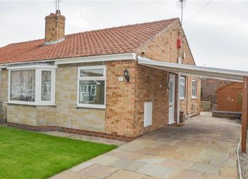 Thumbnail 2 bed semi-detached bungalow for sale in Blackthorn Drive, Huntington, York