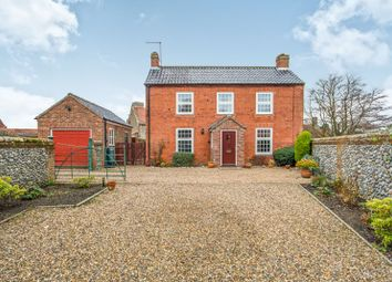 Thumbnail 3 bed cottage for sale in Rose Cottage, The Hill, Trunch, North Walsham, Norfolk