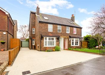 Thumbnail 4 bed semi-detached house for sale in Swindon Road, Horsham, West Sussex