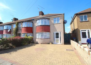 Thumbnail 3 bed end terrace house for sale in Shirley Grove, Edmonton