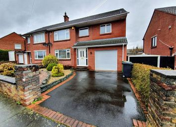 Thumbnail 4 bed semi-detached house for sale in Hopes Hill Drive, Carlisle