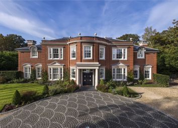 Thumbnail 6 bedroom detached house for sale in West Drive, Wentworth, Virginia Water, Surrey
