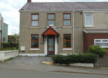 Thumbnail 4 bed semi-detached house to rent in Heol Y Meinciau, Pontyates, Llanelli