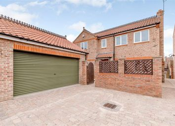 Thumbnail 4 bed detached house for sale in Manor Road, Easingwold, York
