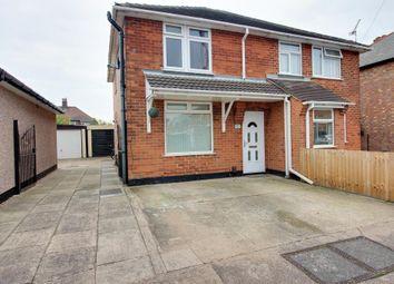 Thumbnail 3 bed semi-detached house for sale in Roosevelt Avenue, Long Eaton, Nottingham