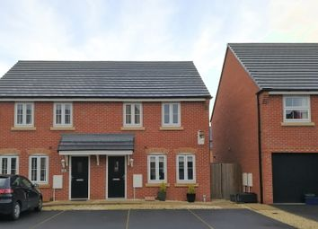 Thumbnail 3 bed semi-detached house for sale in Fford Bate, Connahs Quay, Deeside