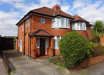 Thumbnail 3 bedroom semi-detached house for sale in Southolme Drive, Rawcliffe, York