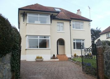 Thumbnail 4 bed detached house to rent in Huxtable Hill, Torquay