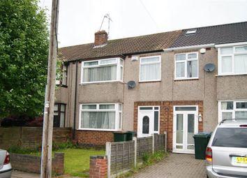 Thumbnail 3 bed terraced house to rent in Overslade Crescent, Coundon, Coventry