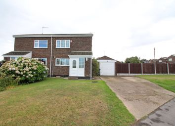Thumbnail 3 bed semi-detached house for sale in Halt Road, Caister-On-Sea, Great Yarmouth