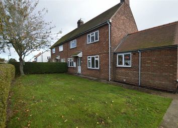 Thumbnail 3 bed semi-detached house for sale in Cleeton Lane, Skipsea, East Yorkshire