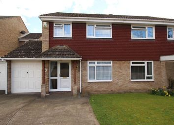Thumbnail 3 bed semi-detached house for sale in Claremont Road, Hextable, Swanley