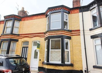 Thumbnail 3 bedroom terraced house for sale in Alverstone Road, Mossley Hill, Liverpool