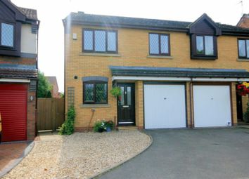 Thumbnail 3 bed semi-detached house for sale in Holyrood Close, Stone