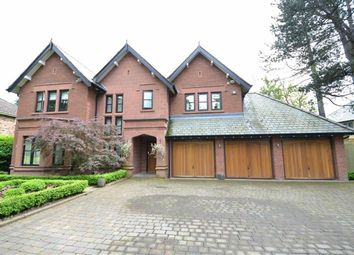 Thumbnail 5 bed detached house for sale in Wilmslow Park South, Wilmslow, Cheshire