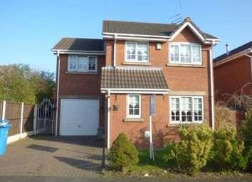 Thumbnail 4 bed detached house for sale in Silverdale Close, Tarbock, Merseyside