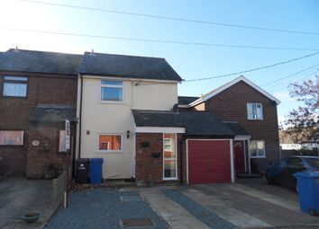 Thumbnail 2 bed semi-detached house to rent in New Cut, Hadleigh, Ipswich, Suffolk