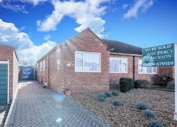 Thumbnail 2 bedroom bungalow for sale in Portfields Road, Newport Pagnell