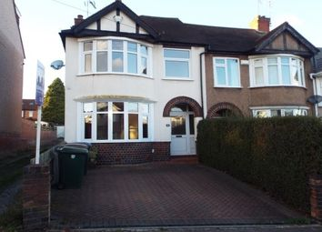 Thumbnail 3 bedroom end terrace house to rent in Cranford Road CV5, Coventry