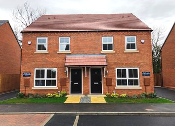 Thumbnail 3 bedroom semi-detached house for sale in Fleckney Fields, Kilby Road, Fleckney, Leicestershire