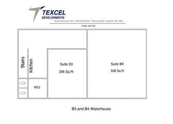 Thumbnail Office to let in Suite & Water House, Texcel Business Park, Thames Road, Crayford, Dartford, Kent
