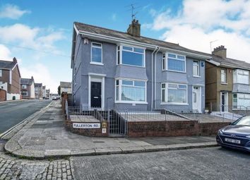Thumbnail 3 bed end terrace house for sale in Milehouse, Plymouth, Devon