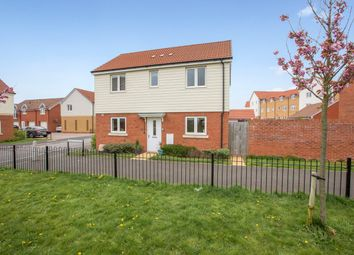 Thumbnail 3 bed detached house for sale in Vernon Crescent, Exeter