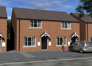 Thumbnail 2 bed semi-detached house for sale in Sladden Close, Badsey, Evesham
