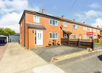 Thumbnail 3 bed end terrace house for sale in Kimberley, Letchworth Garden City