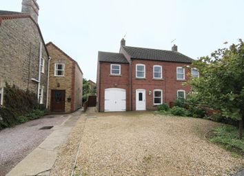 Thumbnail 3 bed semi-detached house for sale in Hallgate, Holbeach