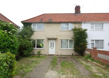Thumbnail 3 bed semi-detached house for sale in Parr Road, Norwich, Norfolk