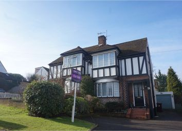 Thumbnail 3 bed semi-detached house for sale in Ashfield Avenue, Bushey