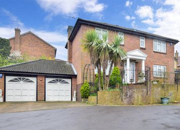 Thumbnail 4 bed detached house for sale in Watson Avenue, Chatham, Kent