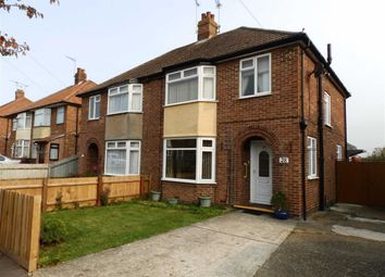 Thumbnail 3 bed semi-detached house for sale in Pinecroft Road, Ipswich, Suffolk