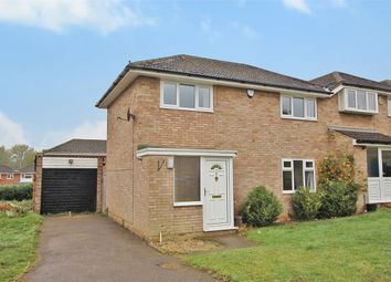 Thumbnail 3 bed end terrace house for sale in Grovebury Dell, Kingsthorpe, Northampton