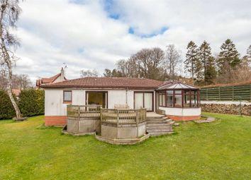 Thumbnail Detached bungalow for sale in Braeriach, Romanno Bridge, West Linton, Scottish Borders