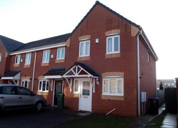 Thumbnail 3 bedroom end terrace house for sale in Chillerton Way, Wingate, Durham