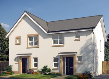 "Thumbnail 3 bedroom semi-detached house for sale in ""The Hamilton"" at Glasgow Road, Denny"